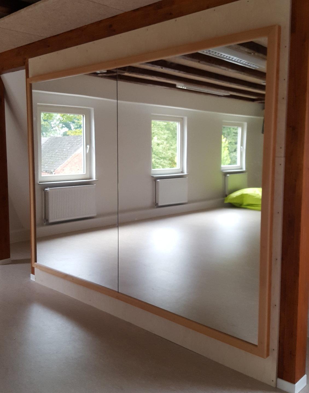 Specchi Per Palestra On Line sistema di specchi per montaggio alla parete